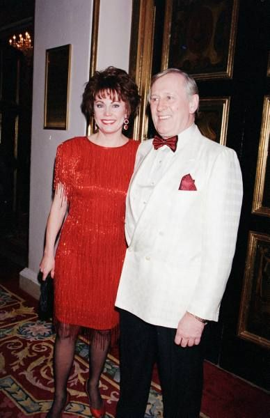Len Cariou  and wife, Heather Summerhayes Cariou 1996