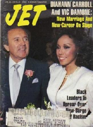 Diahann Carroll and Vic Damone