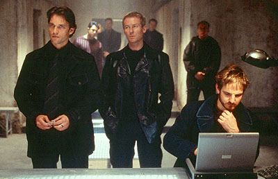 Mission: Impossible II - Dougray Scott, Richard Roxburgh and William Mapother in Paramount's Mission Impossible 2 - 2000