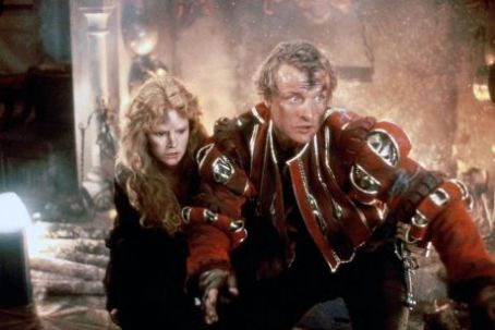 Flesh+Blood Rutger Hauer is Martin and Jennifer Jason Leigh is Agnes in Flesh + Blood (1985)