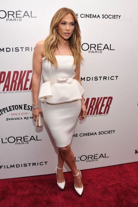 "Jennifer Lopez at a screening of ""Parker"" in New York"