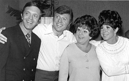 Eydie Gormé Morty Gunity, Steve Lawrence, Totie Fields &