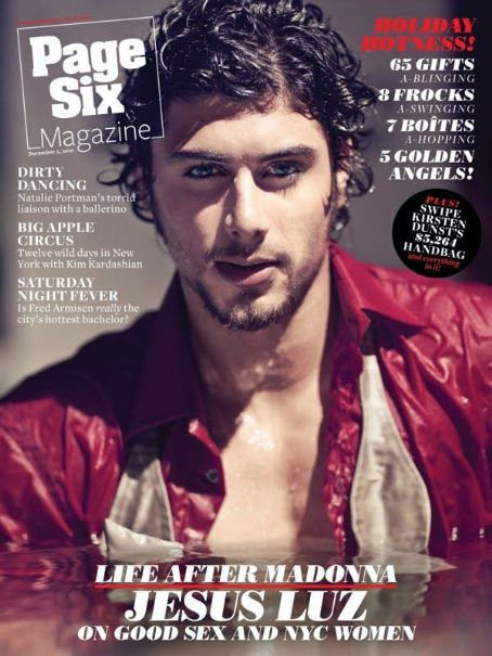 Jesus Luz - Page Six Magazine Cover [United States] (2 December 2010)