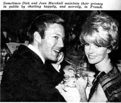 Joan Marshall  and Richard Chamberlain