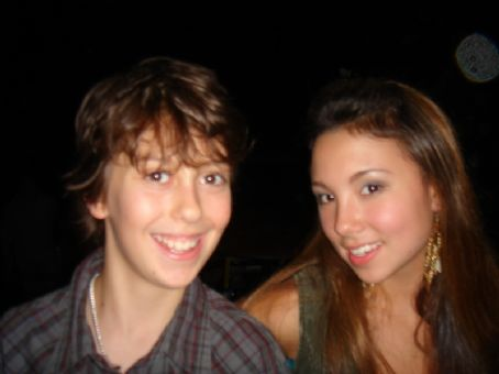 Nat Wolff  and Allie Dimeco