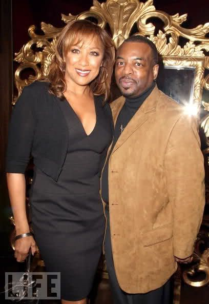 Stephanie Cozart Burton LeVar Burton and