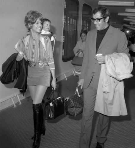 Vanessa Vadim Jane Fonda and Roger Vadim