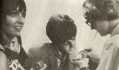 Peter Asher Paul McCartney and Maggie Mcgivern