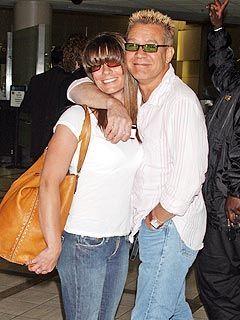 Edward Van Halen Eddie Van Halen and Janie Liszewski