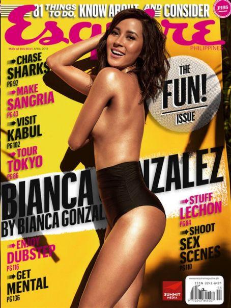 Bianca Gonzalez Esquire Philippines April 2012