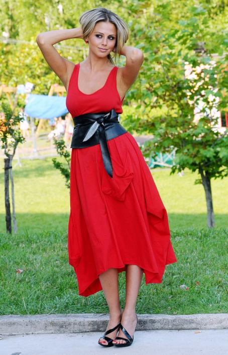 Benedetta Valanzano  - Portrait Session In The Cittadella Gardens During The 2009 Giffoni Film Festival [Day2] On July 13, 2009 In Salerno, Italy
