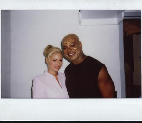 Christopher Judge Christopher and Gia on the