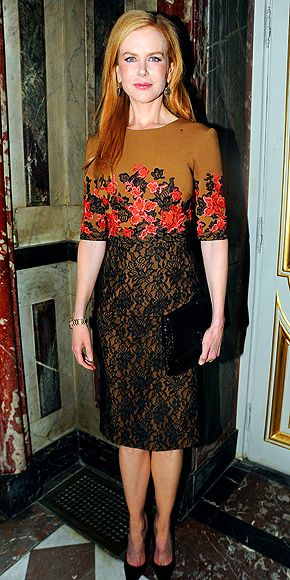 Nicole Kidman Attends a Tod's Event in Paris