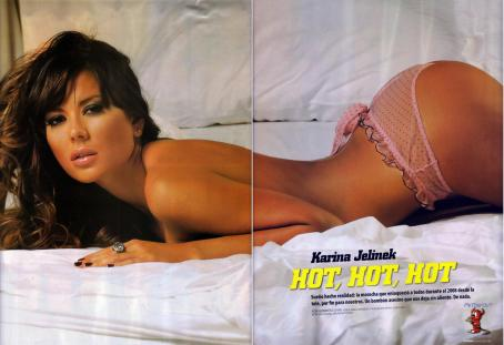 Karina Jelinek  - Hombre Magazine March 2009