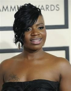 Fantasia Barrino  lookin dazed
