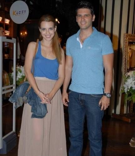 Tolgahan Sayisman and Selen Soyder