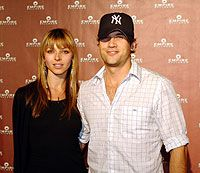 Rachel Perry  and Nick Zano