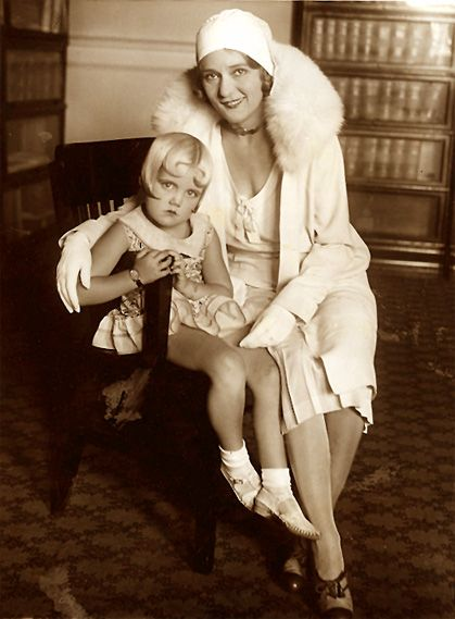 Shirley Jean Rickert  with Mary Pickford