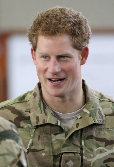 Prince Harry Windsor - Prince Harry visits RAF Honington on Friday (February 10) in Suffolk, England