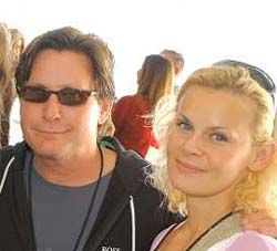 Emilio Estevez  and Sonja Magdevski