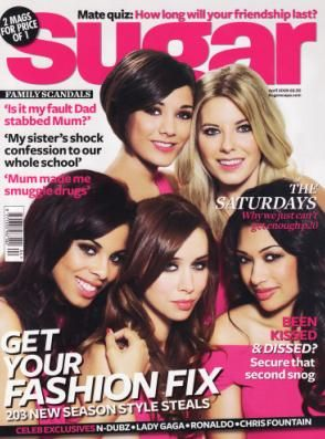 The Saturdays - Sugar Magazine [United Kingdom] (April 2009)