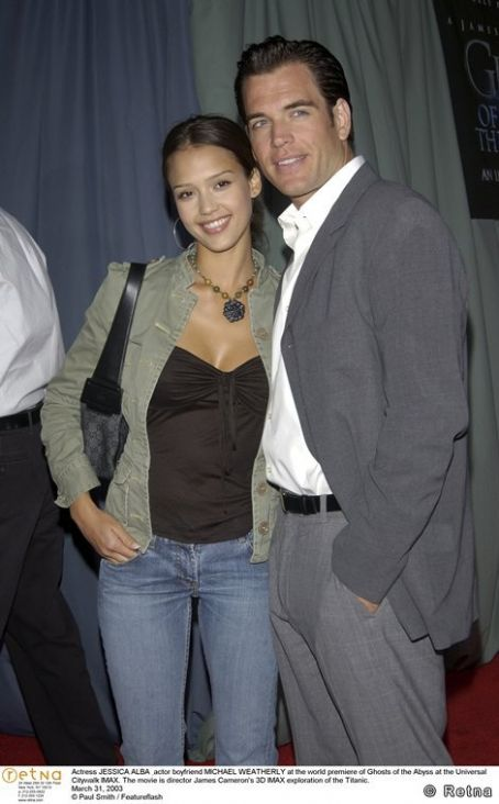 Michael Weatherly  and Jessica Alba