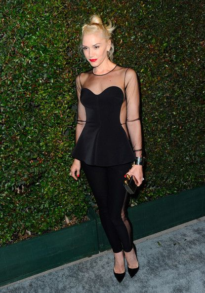 Gwen Stefani attends the world premiere of My Valentine video hosted by Paul McCartney and Stella McCartney on April 13, 2012 in West Hollywood