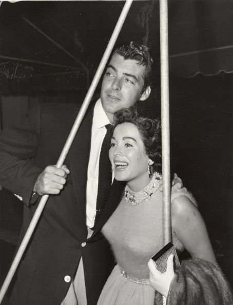 Rory Calhoun and Lita Baron