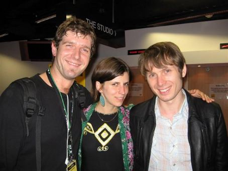 Alex Kapranos  and Eleanor Friedberger