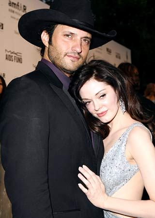 Robert Rodriguez Rose McGowan and