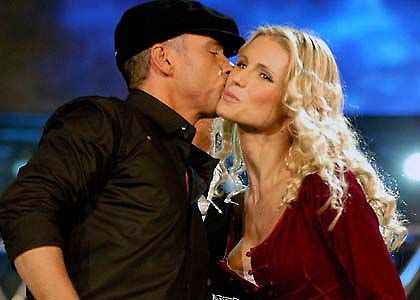 Michelle Hunziker  and Eros Ramazzotti