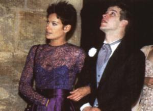 Murilo Benício Carolina Ferraz and Murilo Benicio in Por Amor (1997)