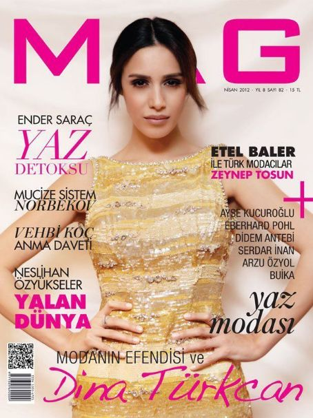 Dina Dzankovic - Mag Magazine Cover [Turkey] (April 2012)