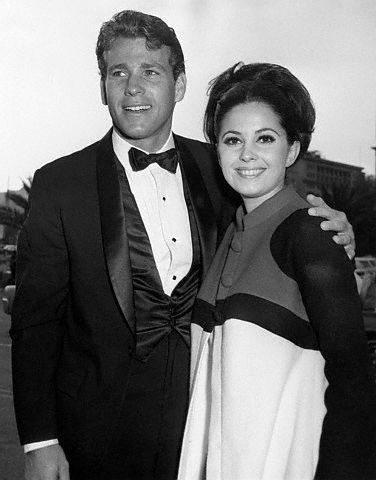 Ryan O'Neal  and Barbara Parkins