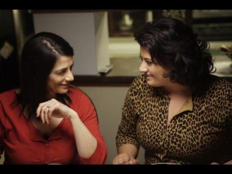 Nisreen Faour Hiam Abbass and  as sisters Raghda and Muna in AMREEKA from National Geographic Entertainment.