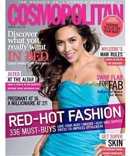 Myleene Klass - Cosmopolitan Magazine [United Kingdom] (February 2010)