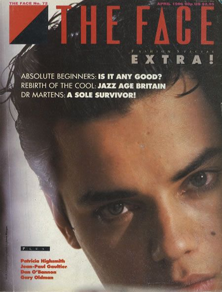 Nick Kamen  - The Face Magazine - 1986