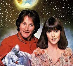 Robin Williams and Pam Dawber