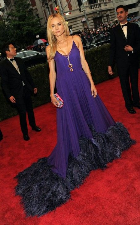 Diane Kruger: Pretty In Prada at 2012 Met Ball