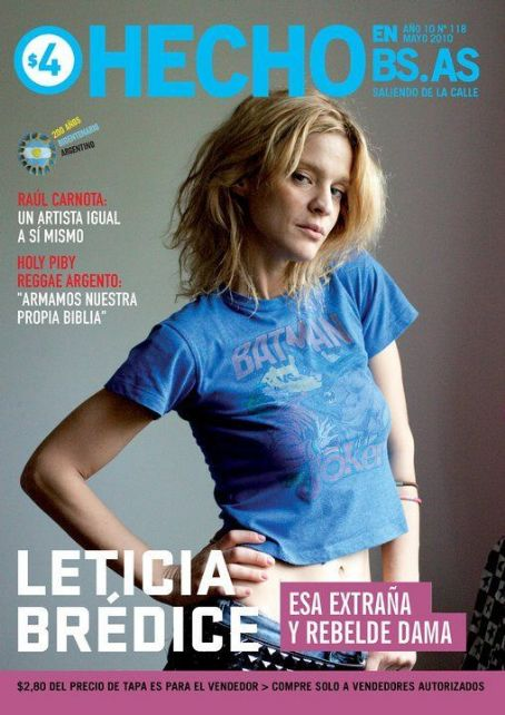 Leticia Brédice - Hecho En Bs. As. Magazine Cover [Argentina] (May 2010)