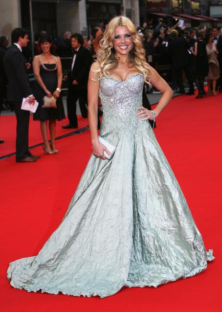 Melinda Messenger  - Apr 20 2008 - British Academy Television Awards 2008, Arrivals, London