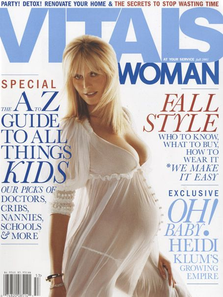 Heidi Klum - Vitals Woman Magazine [United States] (February 2005)