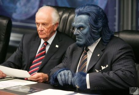 Dr. Henry 'Hank' McCoy Dr. Hank McCoy (Beast) and The President of the United States