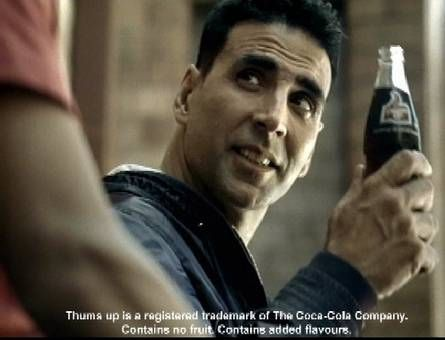 Akshay Kumar for Tums Up Ad