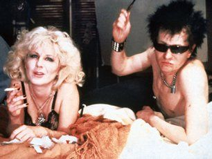 Sid Vicious Gary Oldman as  and Chloe Webb as Nancy in Sid and Nancy (1986)