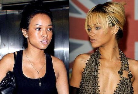 Rihanna and Chris Brown's Girlfriend Karrueche Tran at War