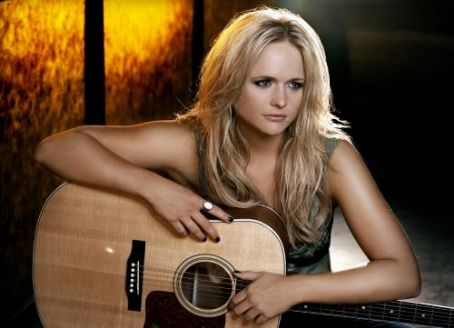 Miranda Lambert  on the set of her