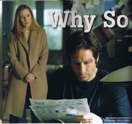David Duchovny Gillian Anderson and