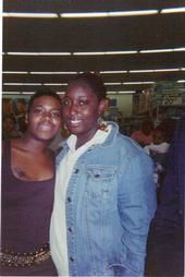 Fantasia Barrino  & Ebony From Philly @ a Book Signing @ Walmart