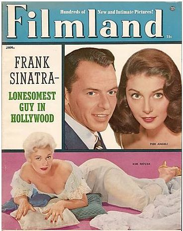 Kim Novak - Filmland Magazine [United States] (January 1956)